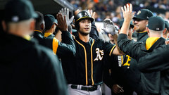 MLB: Athletics 9, Tigers 8