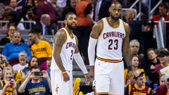 What happened between Kyrie and LeBron?