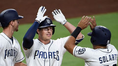 MLB: Diamondbacks 2, Padres 4