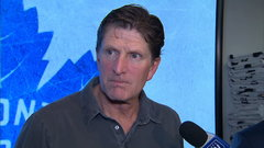 Babcock disappointed after Leafs' performance in opener