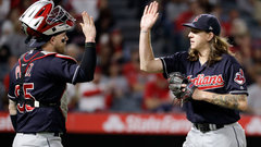MLB: Indians 6, Angels 3