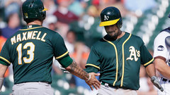 MLB: Athletics 3, Tigers 2