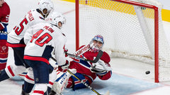 NHL: Capitals 4, Canadiens 2