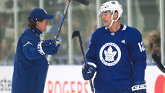 Ferraro: If Marleau plays with Matthews it'll be on Babcock's timeline