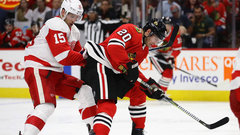 NHL: Red Wings 1, Blackhawks 6