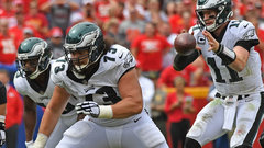 Eagles can control line of scrimmage against Giants