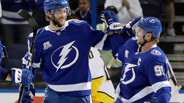NHL: Predators 1, Lightning 3