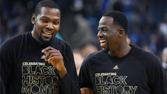 Green laughed in Durant's face over Twitter fiasco
