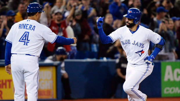 Where does Bautista rank among the greatest Jays?