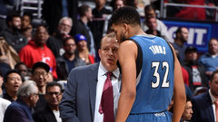 Towns more comfortable in second year with Thibodeau