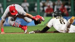 MLB: Cardinals 4, Pirates 3