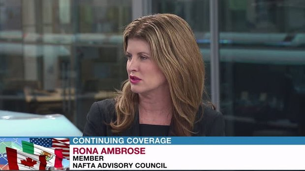 Canada can't 'fall into a political trap' during round 3 of NAFTA talks: Ambrose