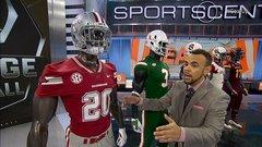 The best college football jerseys of Week 4