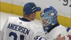 NHL: Maple Leafs 3, Sabres 1