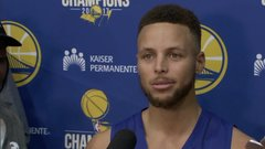 Curry calls LeBron's tweet 'bold'