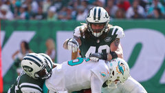 NFL: Dolphins 6, Jets 20