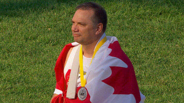 Clarke and Nanson medal for Canada at Invictus Games