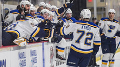 NHL: Blues 4, Penguins 1