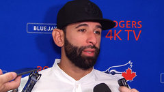 Bautista: 'It's good to feel the love'