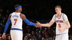Porzingis is thankful for his time with Melo