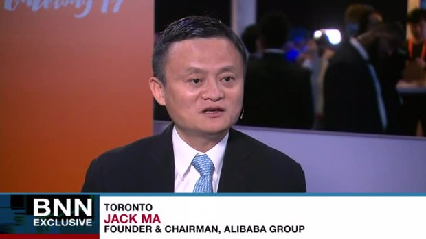 Jack Ma praises Trudeau; says Alibaba can help create 'a lot of jobs' in Canada