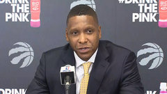 Ujiri on protests: 'Nobody is getting fired here, they have a platform'