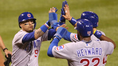 MLB: Cubs 10, Cardinals 2