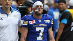Bombers' Dressler 'out a couple weeks'