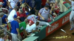 The Keg Must See: Nacho average foul ball