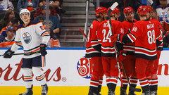 NHL: Hurricanes 2, Oilers 6