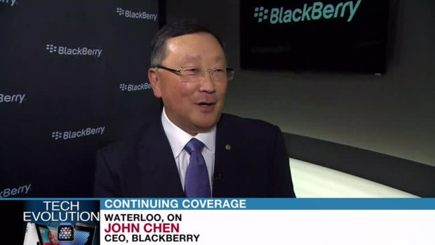 Chen sees 'more good quarters than bad' at Blackberry, but no 'smooth sailing'