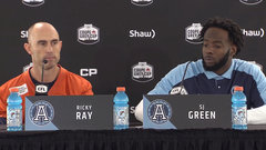 Ray and Green hoping their experience can pay off on the big stage