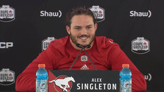Singleton on team injuries: Next man mentality is a staple point in Calgary