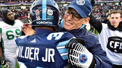 Butler, Wilder Jr. give Argos different look against Stamps