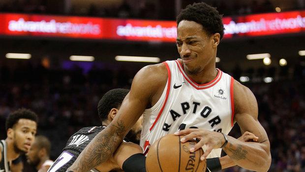 NBA: Raptors 102, Kings 87