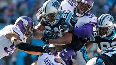 NFL: Vikings 24, Panthers 31