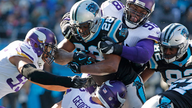 NFL: Vikings 24, Panthers 31