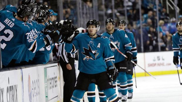 NHL: Senators 0, Sharks 5