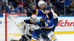 NHL: Sabres 2, Blues 3 (OT)