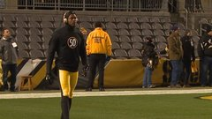Steelers honoring Shazier in warm-ups