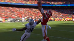 Must See: Chiefs' Wilson somehow keeps both feet in on dazzling grab