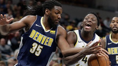 NBA: Nuggets 116, Pacers 126 (OT)