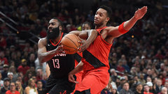 NBA: Rockets 124, Trail Blazers 117