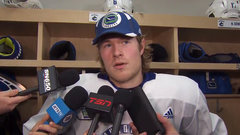 Boeser not worried about any added pressure amidst rash of injuries