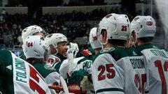 NHL: Wild 4, Sharks 3 (OT)
