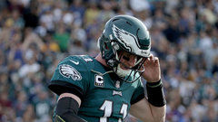 Wentz has torn ACL, will miss rest of season