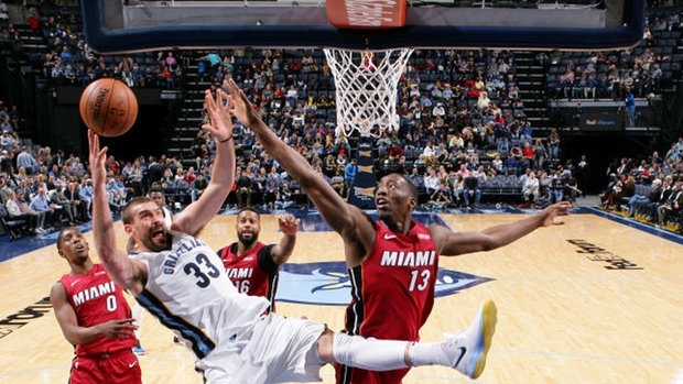 NBA: Heat 107, Grizzlies 82