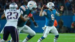 NFL: Patriots 20, Dolphins 27