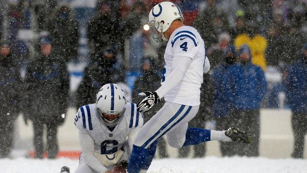 Snow game kicks could cost Vinatieri $500,000 bonus