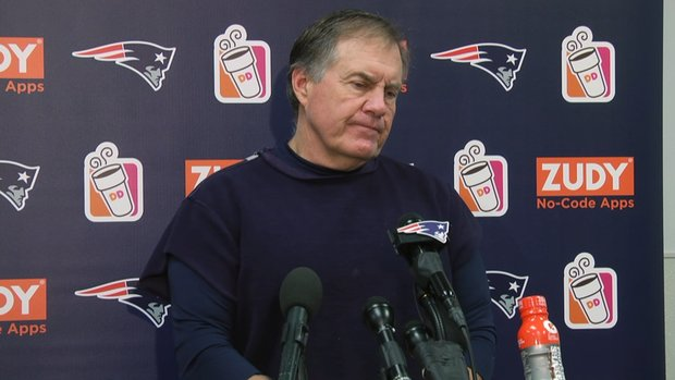 Belichick gives a Belichick response after loss